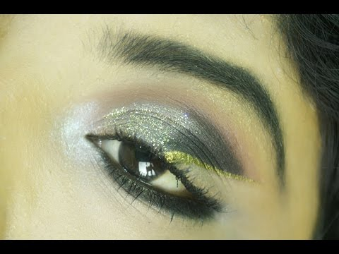No Wing Winged liner tutorial/Floating eyeliner look||Taniastylefizz