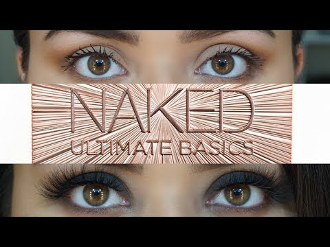 UD Naked Ultimate Basics | 3 easy eye looks | Nancy G