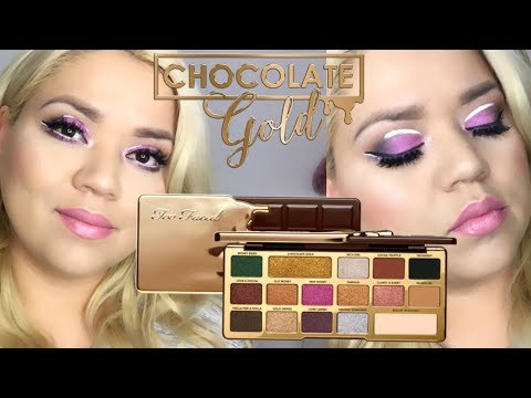 PRIMERA IMPRESION: TOO FACED CHOCOLATE GOLD