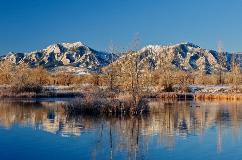Sunrise at Duck Pond