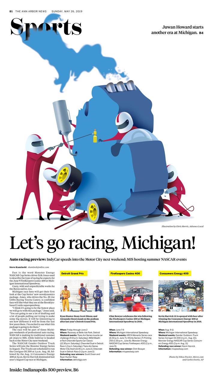 Print Lab - Let's go racing