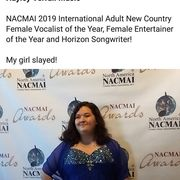 Hayley Verrall at NACMAI March, 2019