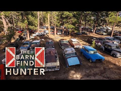 700 Cars hidden on a Ranch in Colorado | Barn Find Hunter
