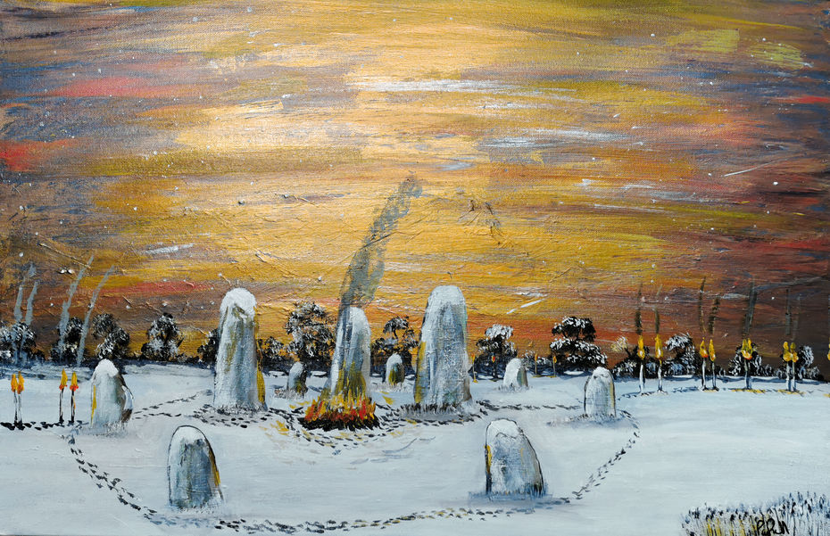 Winter Solstice celebrations.