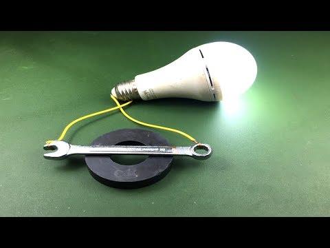 New Free Energy Generator Using Magnet Activity 2019