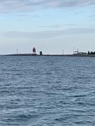 Lake Michigan on the water