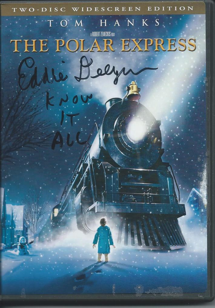 DVD cover signed by Eddie Deezen before my train ride Dec. 1, 2