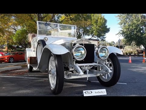 1911 Rolls-Royce 40/50 Silver Ghost Drophead by Barker At the  2019 RM Sotheby's, Hershey