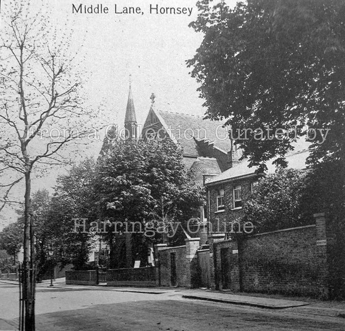 Middle Lane Hornsey c1900