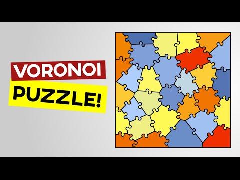 Voronoi Puzzle (Grasshopper Tutorial)