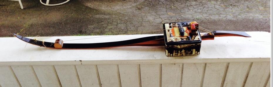 Bow guitar with original bridge,,,,
