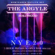 The Argyle Hollywood New Years 2020