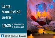 Conte Français / LSQ en direct - AQEPA Montréal Régional