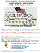 Pearl Harbor Day Breakfast with Our Heroes