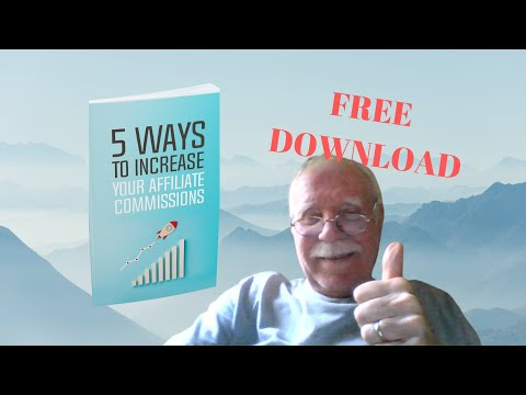 5 Way To Increase Your Affiliate Commissions ~ My Weekly Give Away