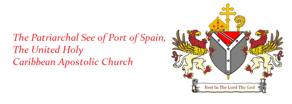 Apostolic See of Port of Spain Banner