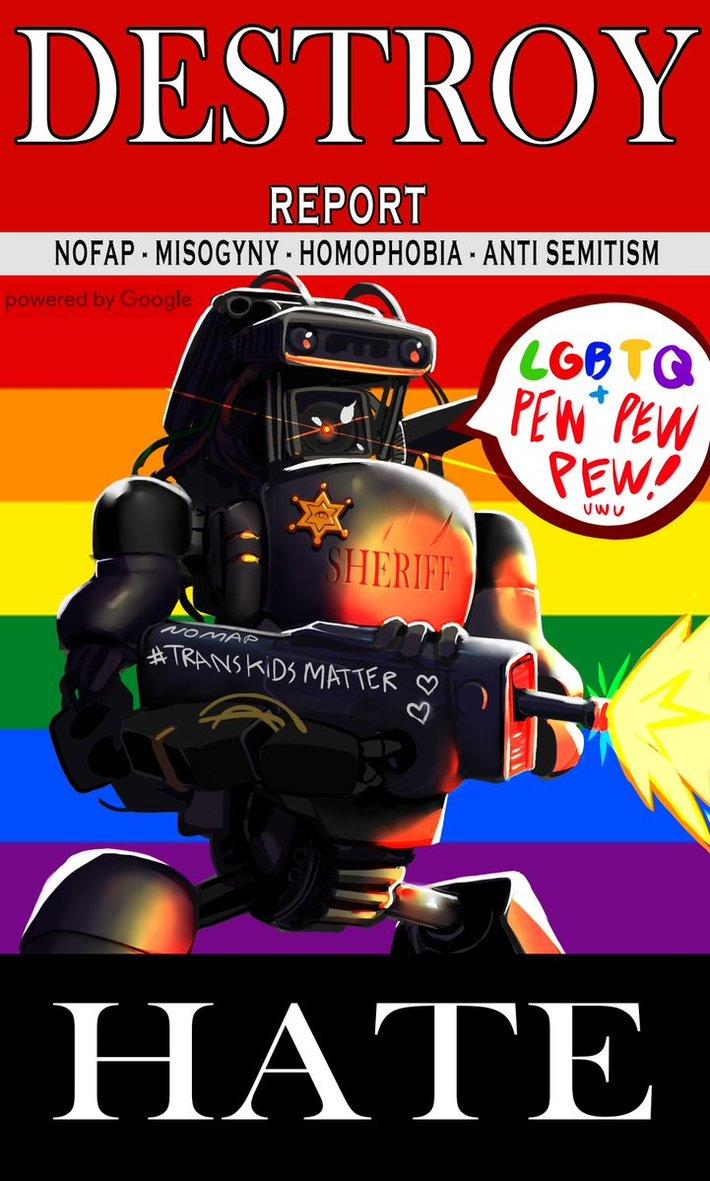 Report Misogyny Homophobia Anti-Semitism and Nofap
