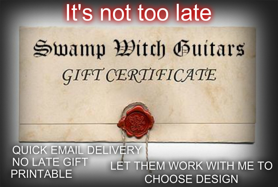 WITCH CERTIFICATES