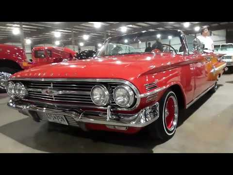 Will's 1960 Chevy Impala Convertible Sweet n' Lowered! 2019 East Coast Indoor Nationals