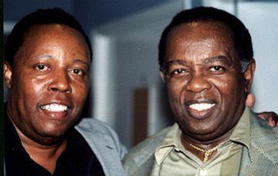 Brothers Lon Dorsey and Lou Rawls