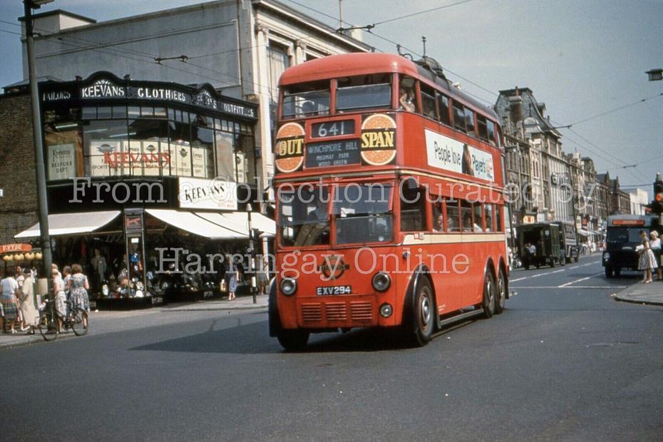 Cheapside, High Road Wood Green, 1961
