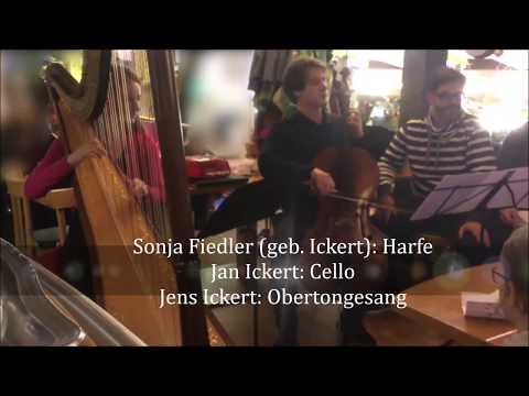 Oberton Adventskalender 2019, 13. Türchen. Kammermusik mit Sonja Fiedler, Jan Ickert u. Jens Ickert
