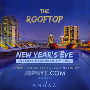 NYE | Andaz San Diego 2020 New Years Open Bar Tickets
