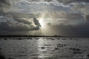 Λίγο πριν δύσει ο ήλιος στις Αλυκές Λεχαινών...