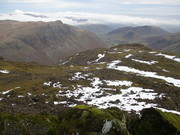 Langdale Pikes from Bowfell