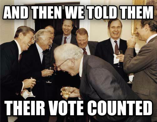 THEIR VOTE