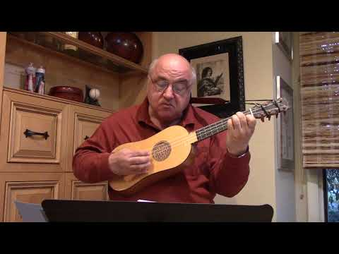Three Bransles de Champagne From LeRoy's Book III for Renaissance Guitar