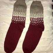 Socken mit Jaquard-Muster