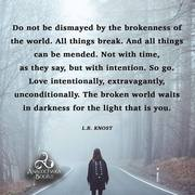 the brokenness of the world