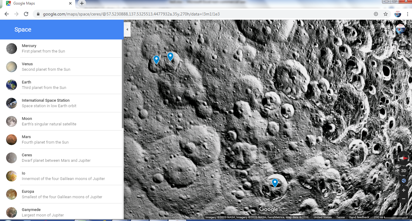 Traveling To Other Planets With Google Maps Data Science Central