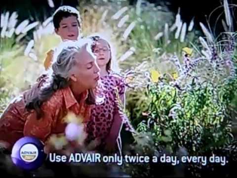 Jody Jaress in Advair Commercial 2010