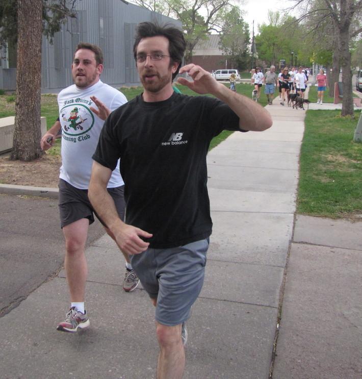 Jack Quinn's Running Club, May 10