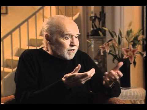 """George Carlin on God, the planet, and """"the freak show"""""""