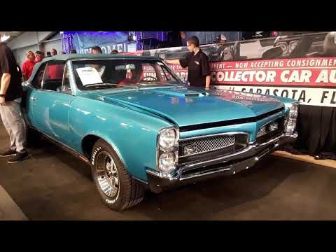 1967 Pontiac GTO 4 Speed,Convertible At the 2019 Fall Carlisle Auction