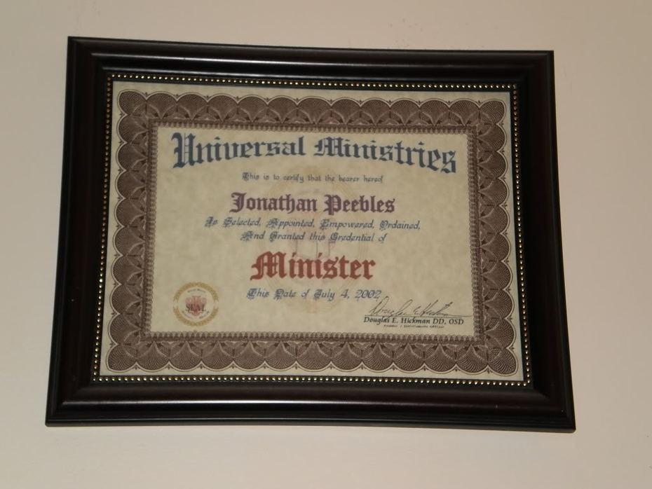 1. Minister