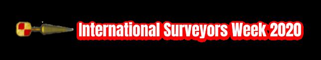International Land Surveyors Week 2020