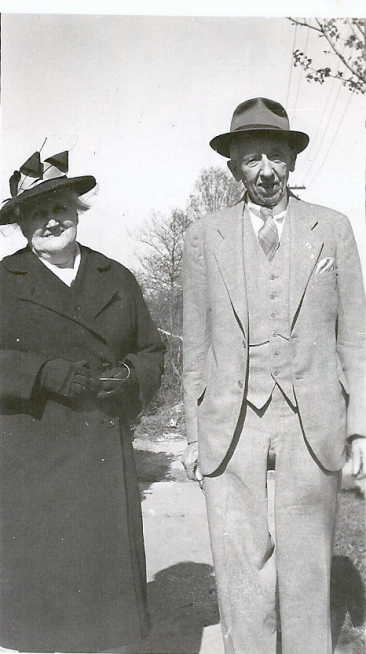 Sarah Elizabeth Cree with William Chegwidden