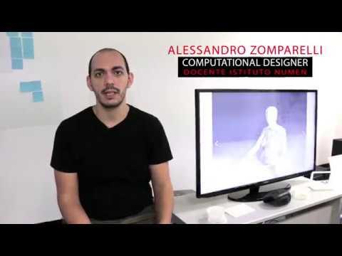 Teacher #1 Intervista Alessandro Zomparelli | Blender e Grasshopper | Istituto NUMEN