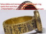 Money magic ring to bring in money everyday spells +27820706997