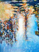 LEONI A. Jäkel, Paradise Lost, 90x70cm, Öl auf Leinwand, 2017