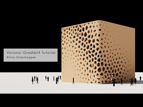 [Tutorial] Voronoi Gradient Pattern Facade