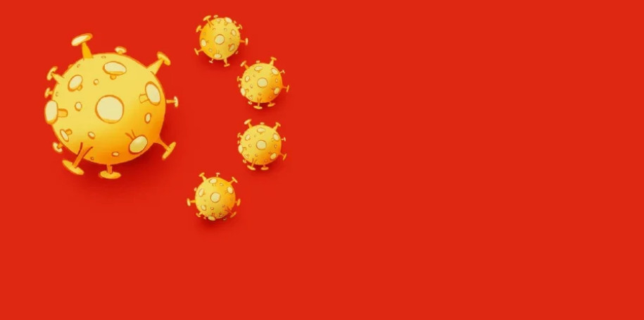 coronavirus flag