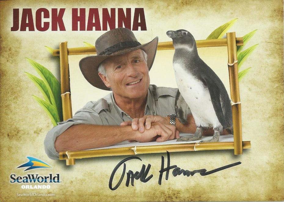 Jack Hanna signed IP at Sea World Orlando on Jan. 26, 2020.