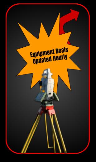 Land Survey Equipment Deals and Specials
