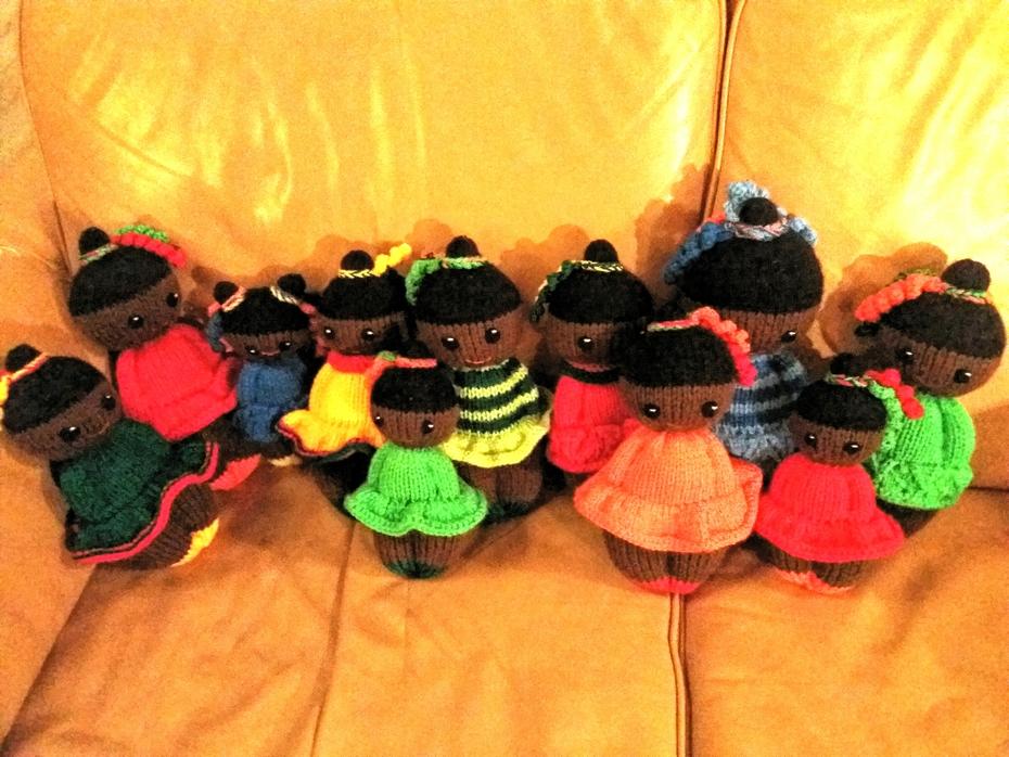 Izzy dolls for the girls