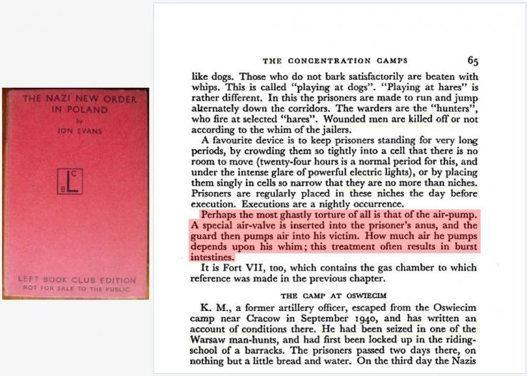 Nazis Used Air Pump Torture